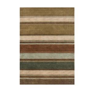 Wełniany dywan Country Green, 140x200 cm