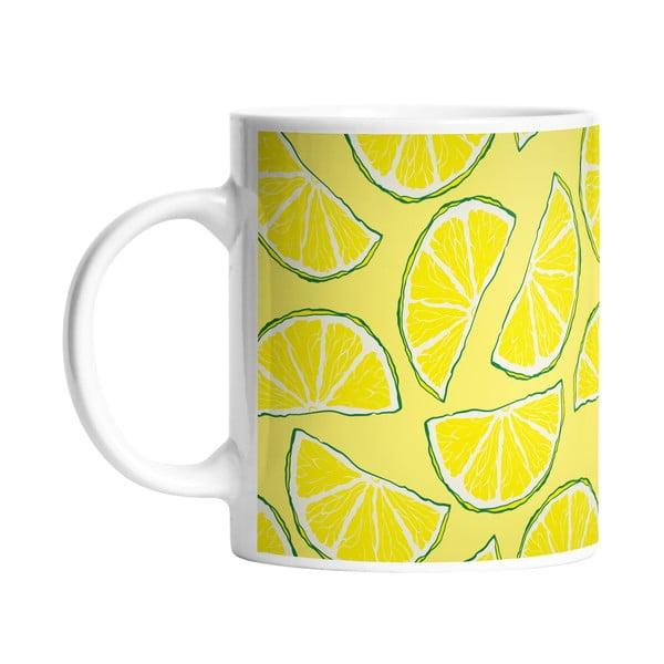 Kubek ceramiczny Sour Lemon, 330 ml