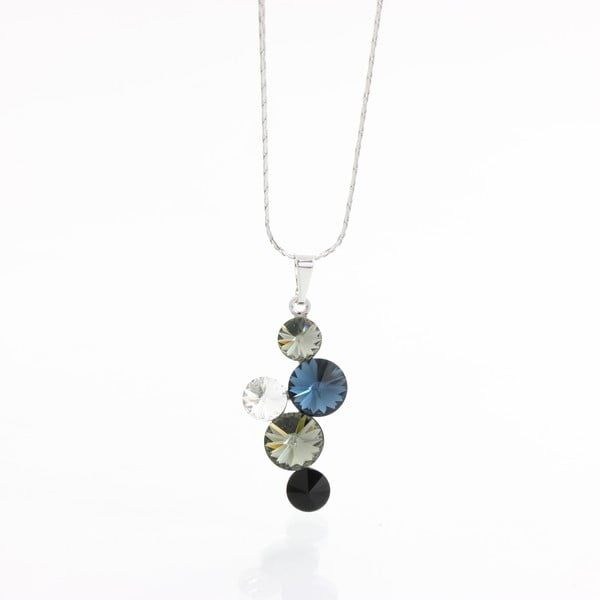 Naszyjnik z kryształami Swarovski Elements Laura Bruni Buzau