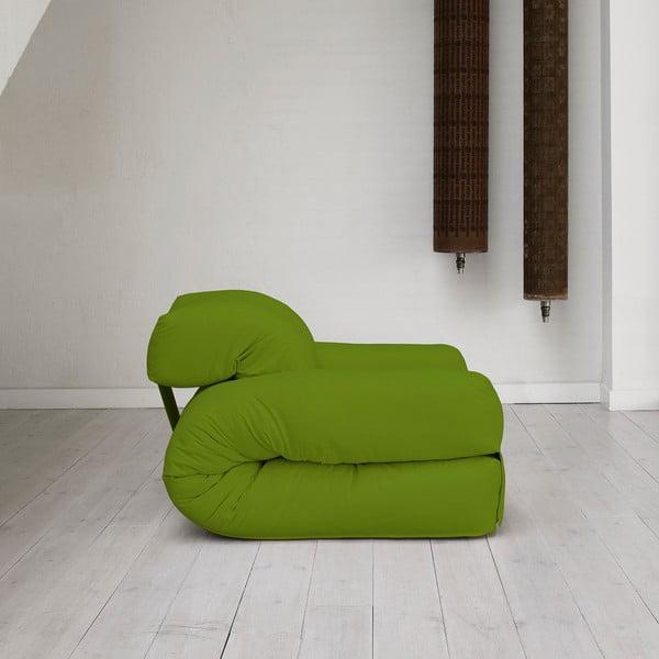 Fotel rozkładany Karup Hippo Lime
