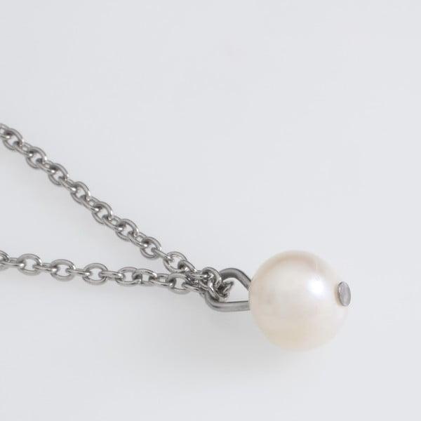 Naszyjnik z białą perłą Lucie Marková I