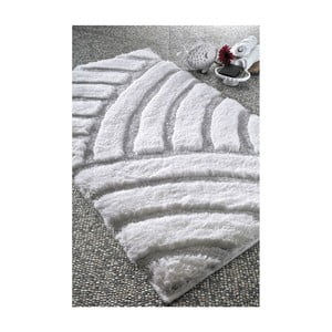 Dywanik łazienkowy Kanya White, 60x100 cm