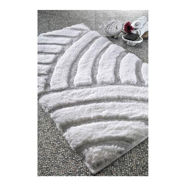 Dywanik łazienkowy Kanya White, 70x120 cm