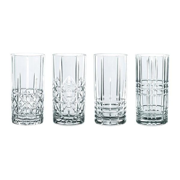 Komplet 4 szklanek ze szkła kryształowego Nachtmann Highland, 445 ml