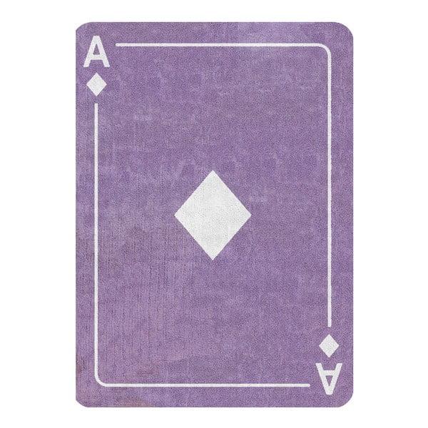 Dywan Diamante 160x120 cm, liliowy