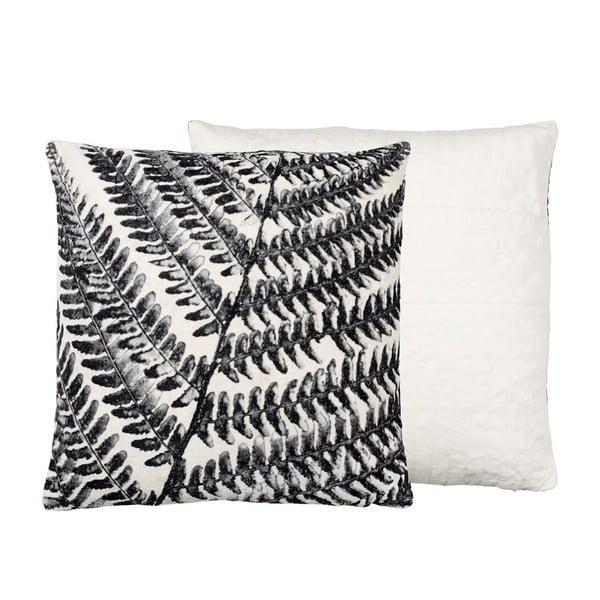 Poduszka z wypełnieniem Summer Fern Grey, 50x50 cm