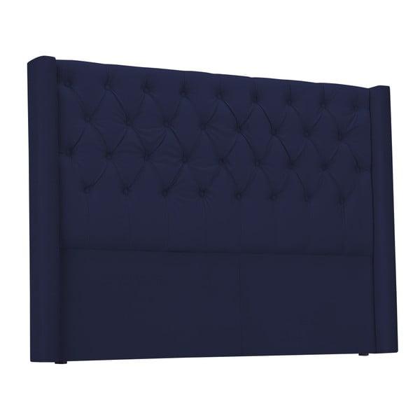 Modré zagłówek łóżka Windsor & Co Sofas Queen, 196x120 cm
