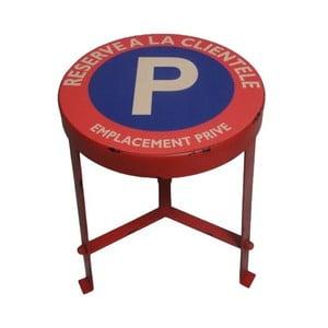Metalowy stołek Reserve