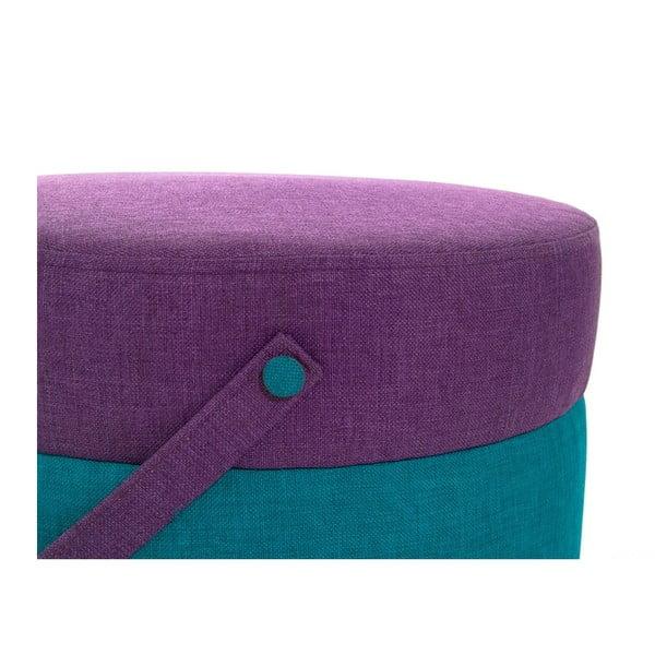 Puf Kovva Turquoise/Purple