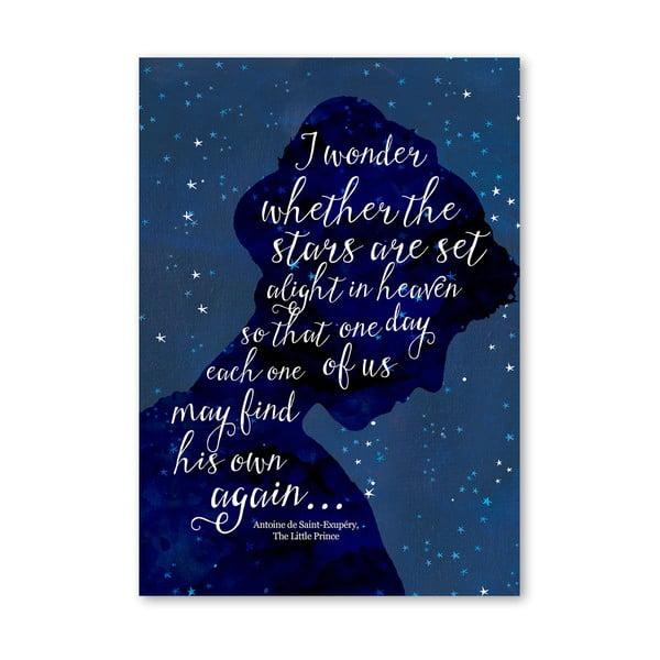 Plakat (projekt: Mia Charro) - I Wonder