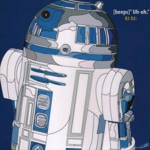 """Obraz """"R2D2"""""""