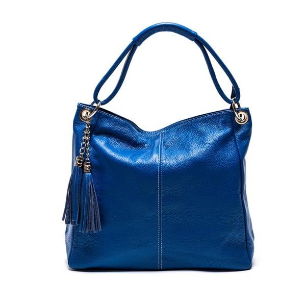 Skórzana torebka Anna Luchini 71 Bluette