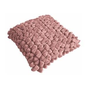 Różowa poduszka ZicZac Pebble, 45x45 cm