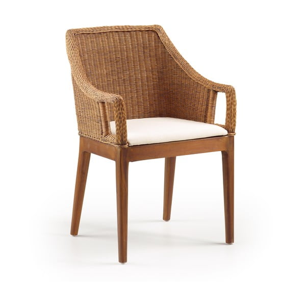 Rattanowy fotel India