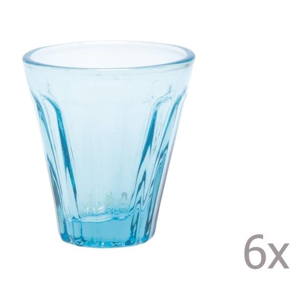 Zestaw 6 kieliszków Lucca Sky, 50 ml