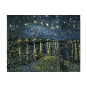 Obraz Vincenta van Gogha - Starry Night 2, 50x40 cm