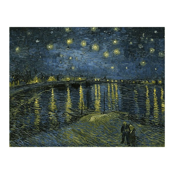 Obraz Vincenta van Gogha - Starry Night 2, 70x55 cm