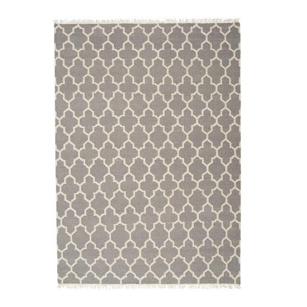 Wełniany dywan Arifa Light Grey, 200x300 cm