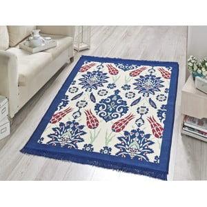 Dywan Blue Floral, 60x90 cm