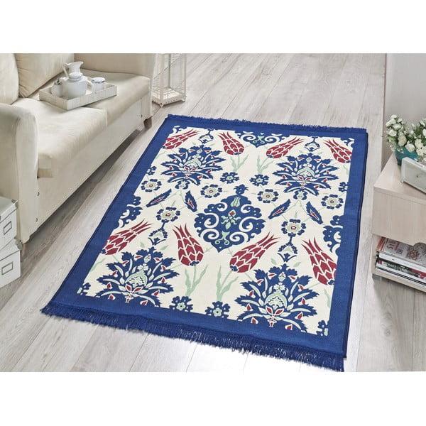 Dywan Blue Floral, 160x250 cm
