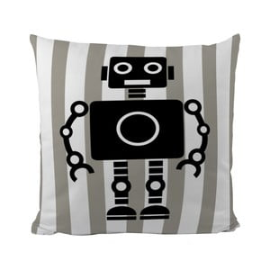 Poduszka Black Shake My Robotic Friend, 50x50 cm