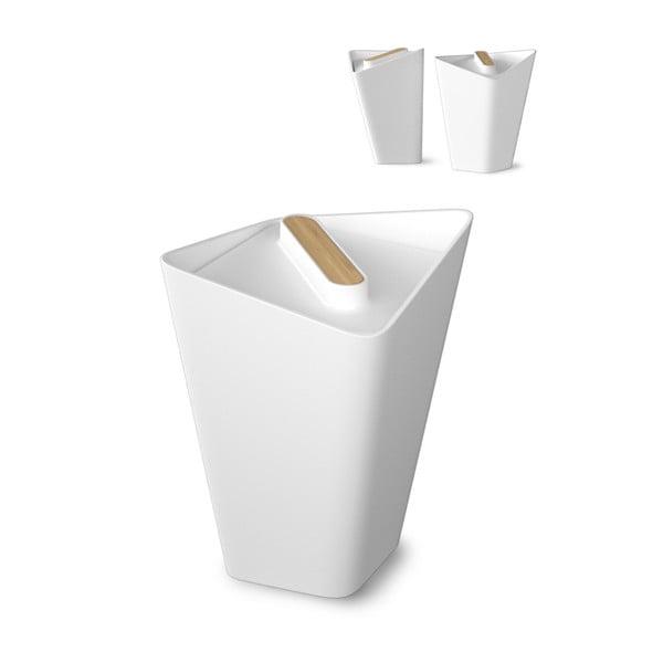 Komplet 3 pojemników kuchennych Storage Jars, biały