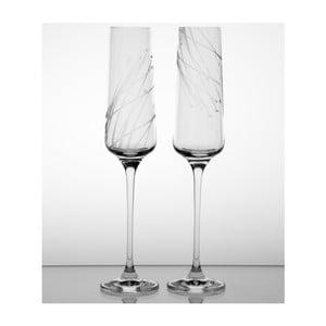 Zestaw 2 kieliszków do szampana Sitowie