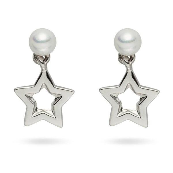 Kolczyki   perłowe Pearls of London Queen Star