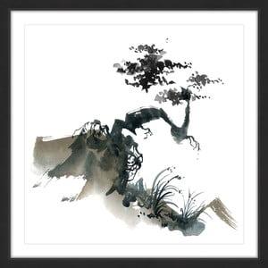 Obraz na płótnie Marmont Hill Bonsai Habitat, 41x41 cm