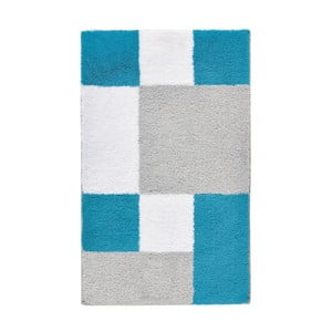 Dywanik łazienkowy Zamba Blue, 60x100 cm
