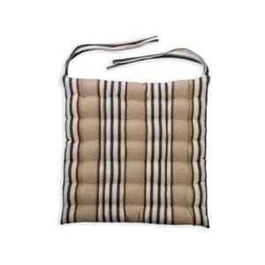 Poduszka na krzesło Garden Trading Clay Stripe, 40x40 cm