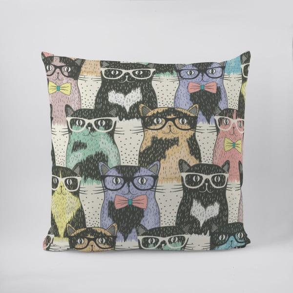 Poduszka Cats in Glasses