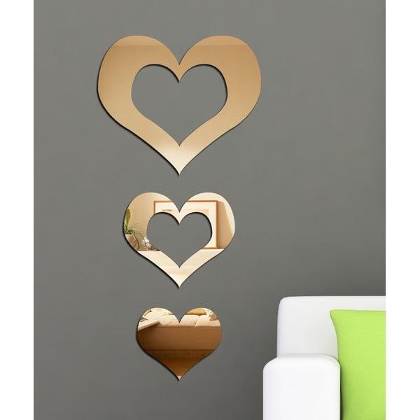 Lustro dekoracyjne Trzy serca