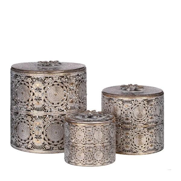 Zestaw 3 pudełek Oriental