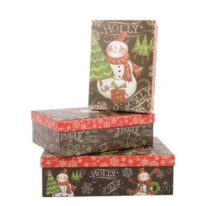 Zestaw 3 pudełek Jingle