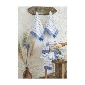 Zestaw 10 bawełnianych ścierek kuchennych Ryan, 46x76cm