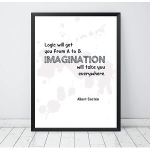 Plakat Nord & Co Imagination, 30x40 cm