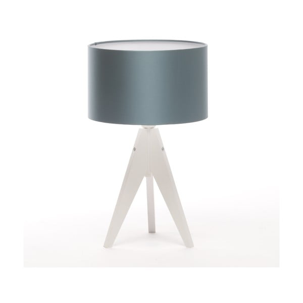 Lampa stołowa Artista White/Ice Blue, 28 cm