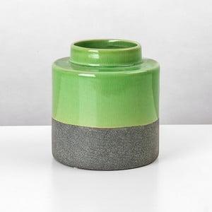 Ceramiczna waza Jungle Mech, wysokość 16 cm