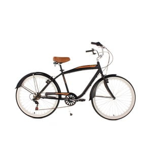 Rower Beachcruiser Vintage Black, 26""
