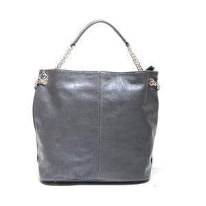 Skórzana torebka Isabella Rhea 2108 Grigio