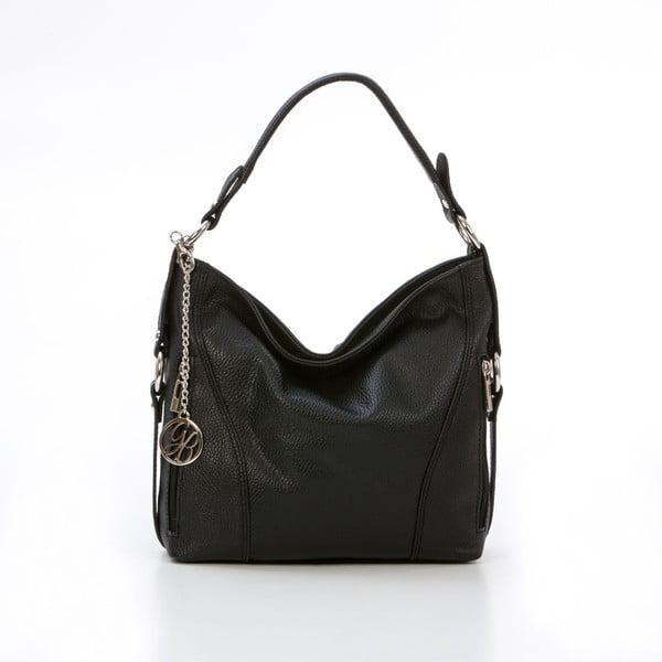 Skórzana torebka Pedro, czarna