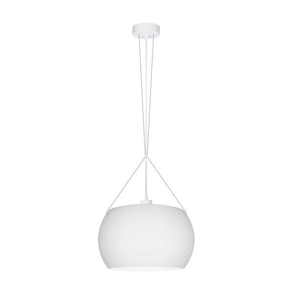 Biała lampa wisząca Sotto Luce MOMO
