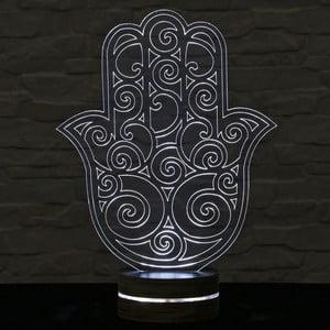 Lampa 3D stołowa Hamsa II