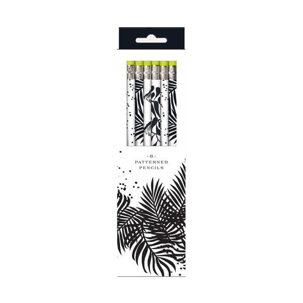 Zestaw ołówków Galison Mudpuppy Seychelles Safari, 8 sztuk