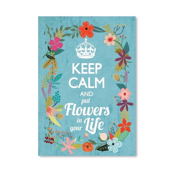 Plakat (projekt: Mia Charro) - Keep Calm