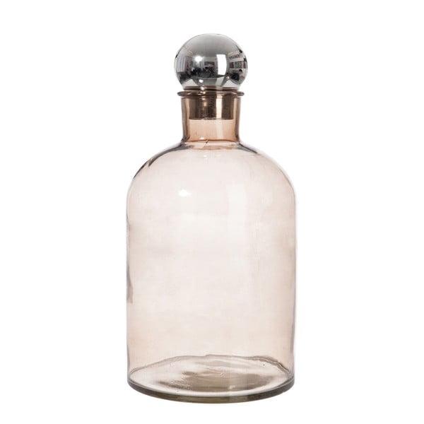 Szklana karafka J-Line Bottle Silver
