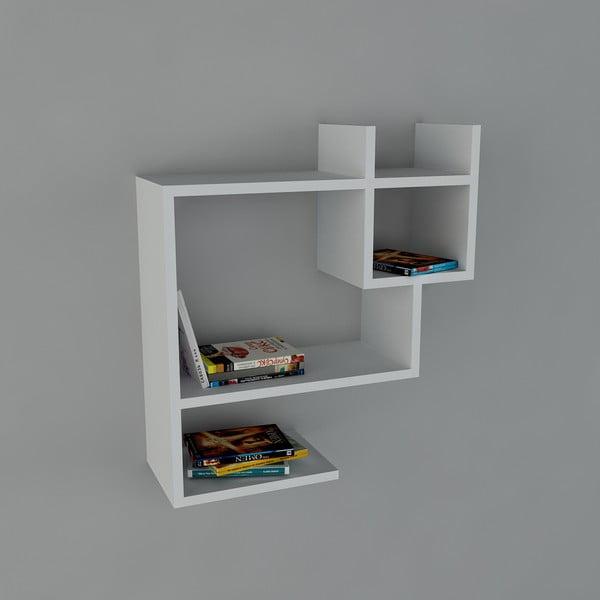 Półka Puss Book White, 22x60x65,5 cm