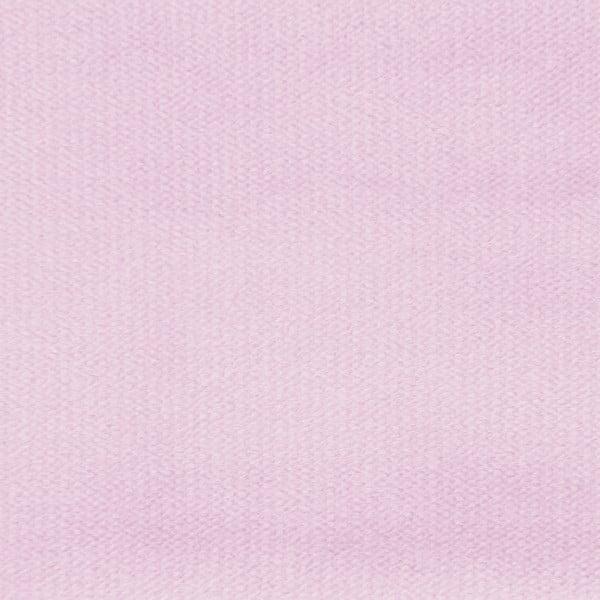 Pastelowo różowe łóżko z naturalnymi nóżkami Vivonita Allon, 180x200 cm
