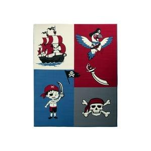 Dywan City & Mix - czerwony pirat, 140x200 cm
